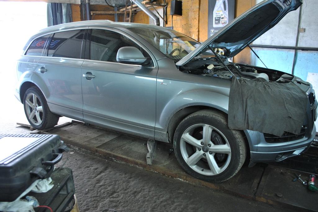 Чип тюнинг и удаление сажевого на Audi Q7 3.0 TDI