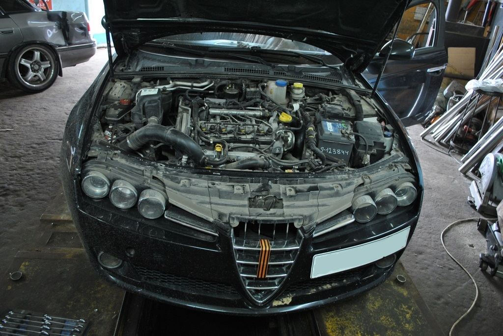 Alfa Romeo 159 Чип тюнинг и удаление сажевого фильтра