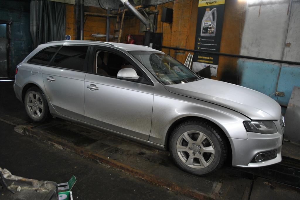 Audi A4 2л TDI, двигатель BPW. удаление сажевого фильтра и EGR