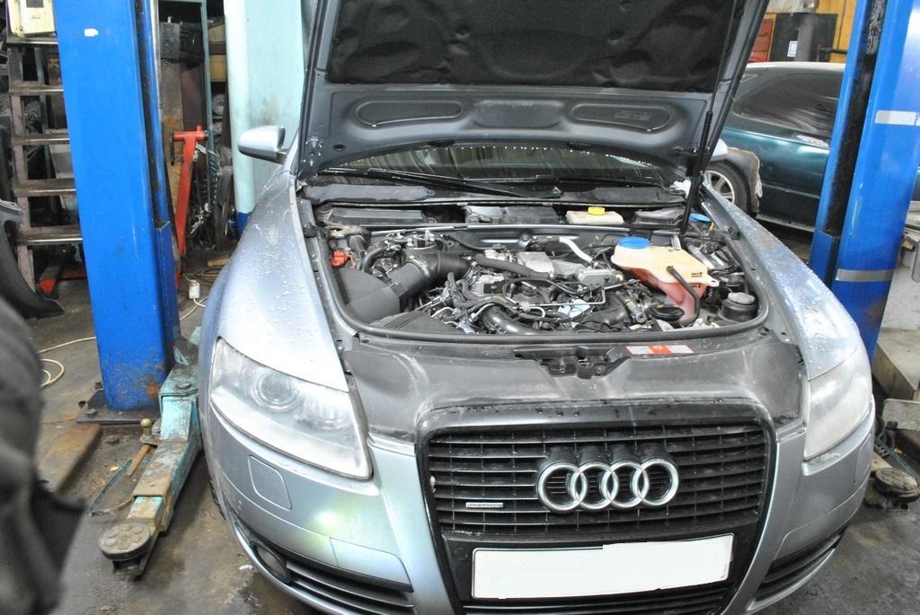 Отключение клапана EGR на трехлитровом Audi A6