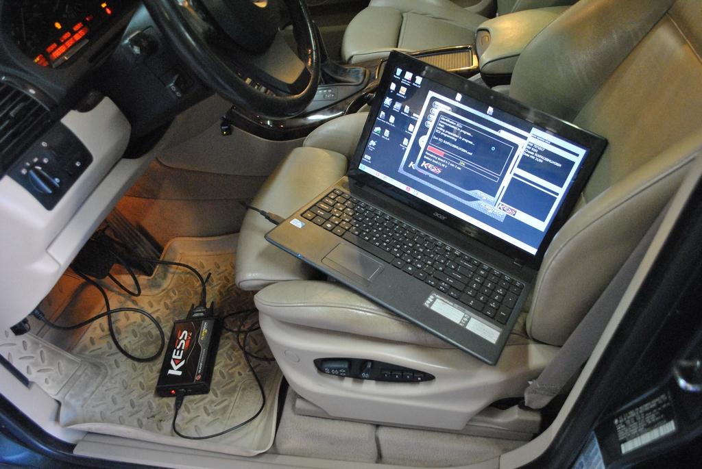 Удаление катализаторов и чип тюнинг BMW X5 E53