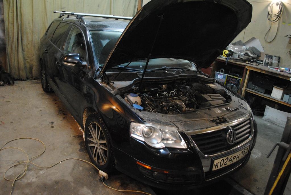 VW Passat 2TDI 140лс Удаление EGR