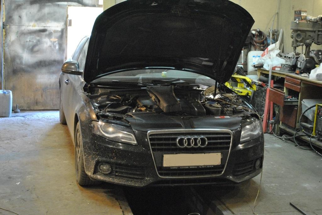 Audi A4 2tdi Чип тюнинг, удаление сажевого фильтра и EGR