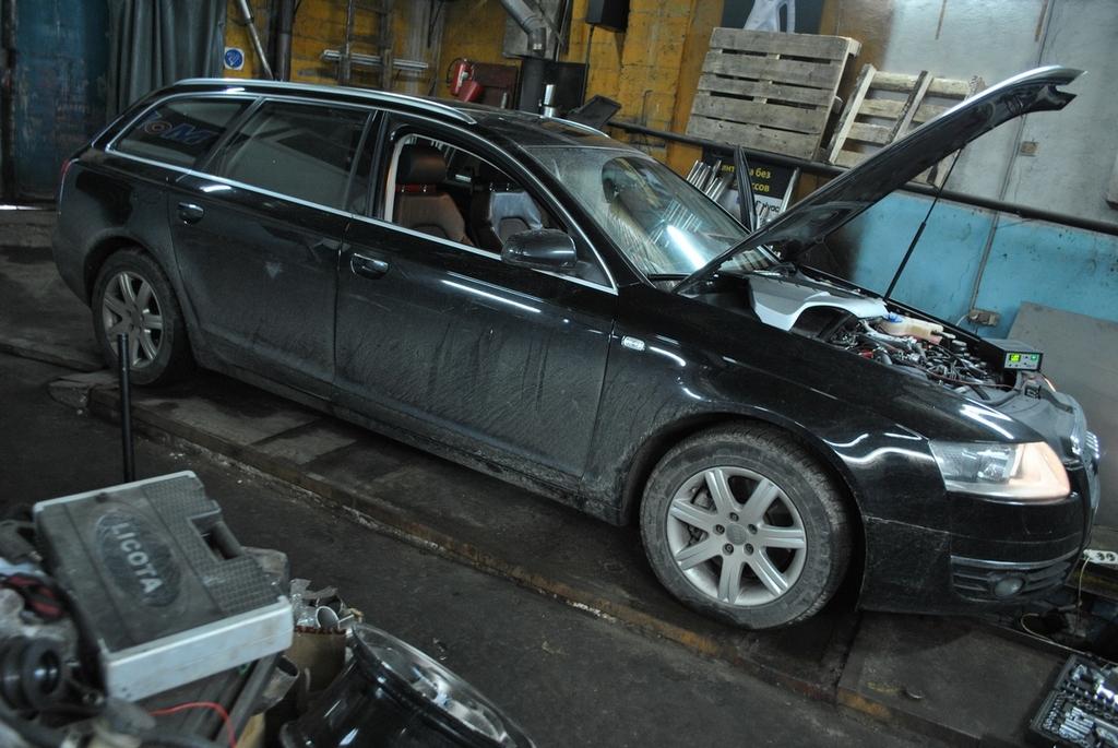 Audi A6 2.7 TDI Удаление сажевого фильтра
