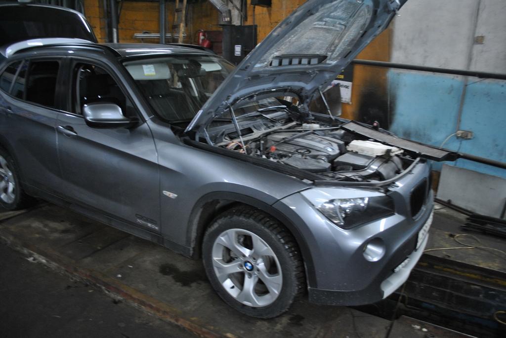 BMW X1 2.0D Чип тюнинг и отключение EGR.