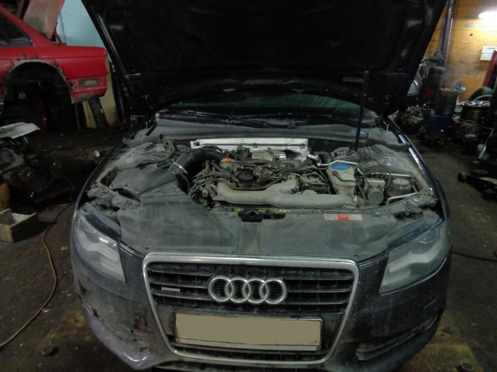 Audi A4 3.0TDI Чиптюнинг, EGR, заслонки.