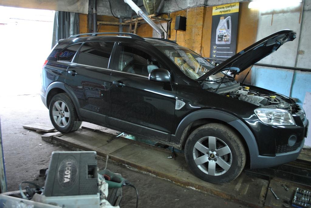 Chevrolet Captiva 2.2td Удаление сажевого фильтра и EGR
