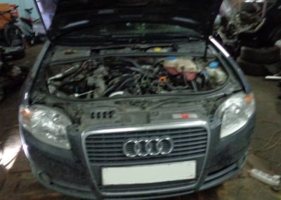 Audi A4 2tdi удаление сажевого фильтра