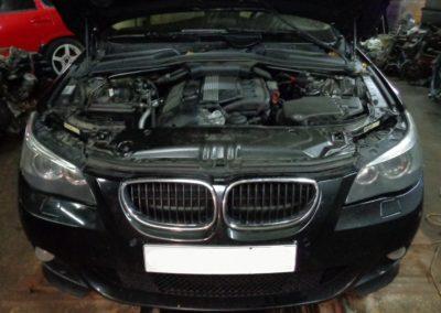 BMW e60 удаление катализаторов