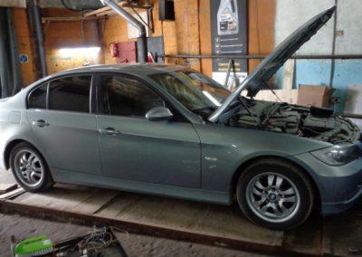 BMW 320 Удаление катализаторов