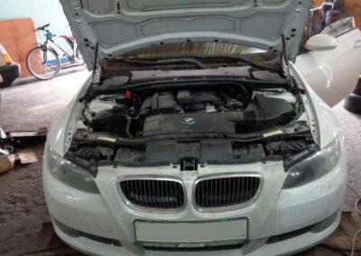BMW 320 e92 Чип тюнинг и удаление катализаторов