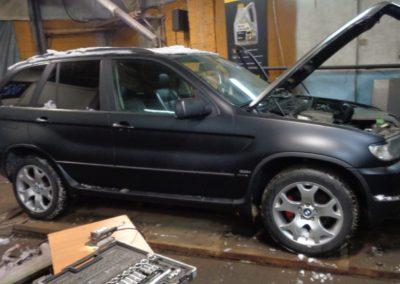 BMW x5 e53 удаление катализаторов