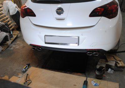 Opel Astra J 1.4t Чип тюнинг и тюнинг выхлопа
