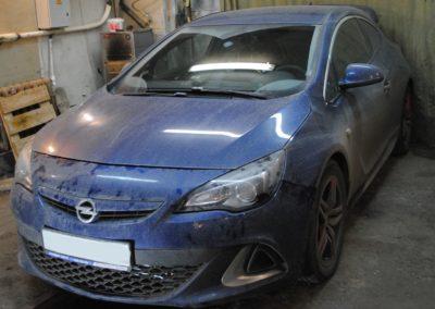 Opel AstraJ OPC Интеркулер Forge