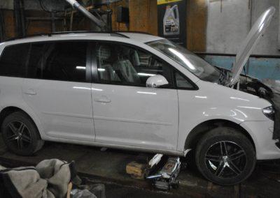 VW Touran 2tdi удаление сажевого фильтра