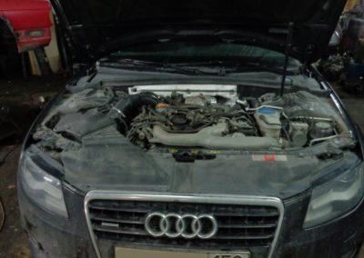 Audi Q7 Удаление системы EGR и вихревых заслонок