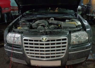 Chrysler 300C 2.7l отключение EGR