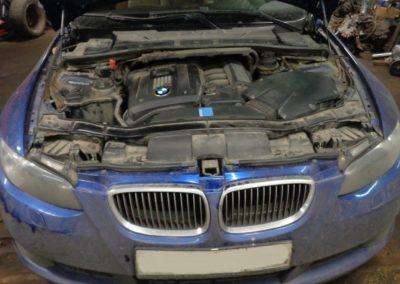 BMW 325 E90 удаление катализаторов