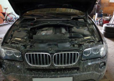 BMW x3 удаление катализаторов и системы вторичного воздуха