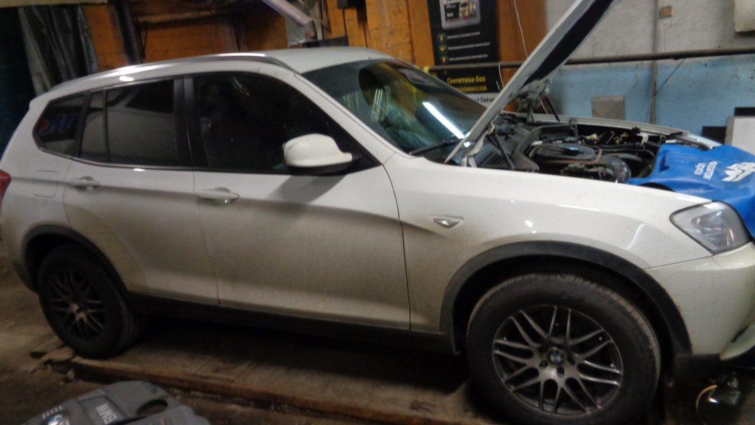 BMW X3 f25 Чип тюнинг, удаление сажевого фильтра и тюнинг выхлопа