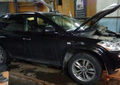 Nissan Murano удаление катализаторов