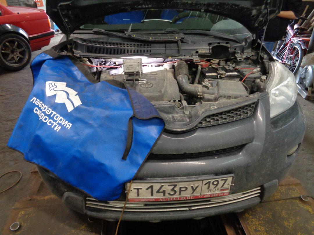 Toyota Urban Cruiser удаление сажевого фильтра