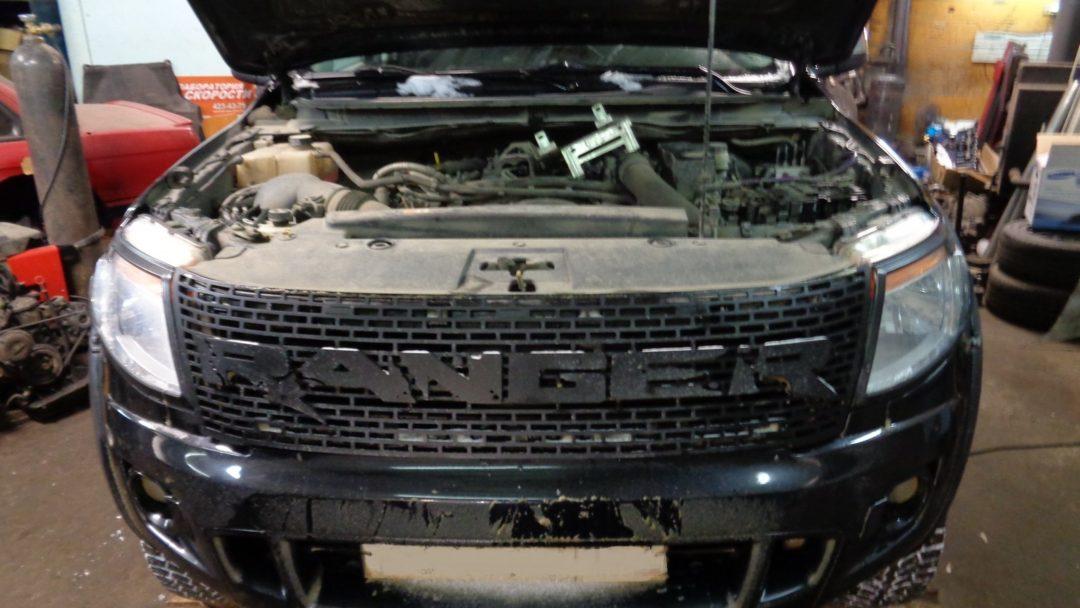 Ford Ranger 2.2tdci Чип тюнинг и отключение EGR