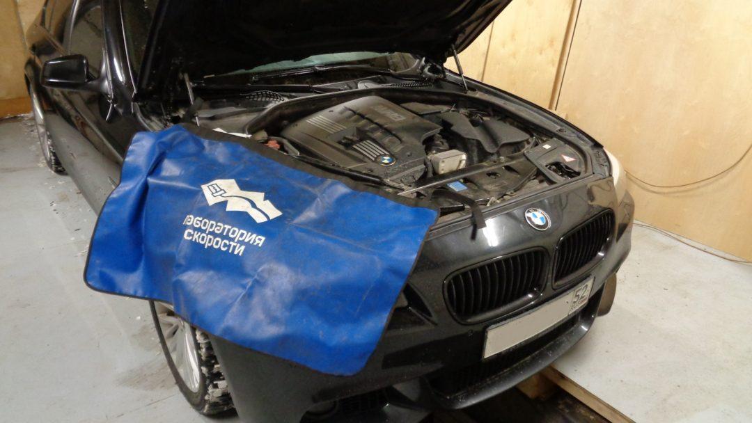 BMW F10 523i удаление катализаторов
