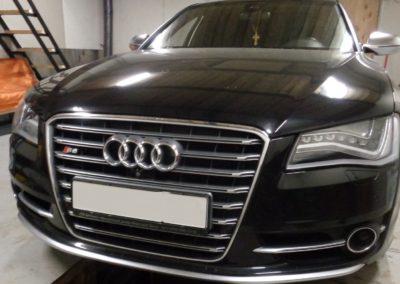 Audi S8 замена гофр