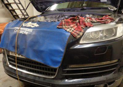 Audi Q7 Удаление EGR с теплообменником