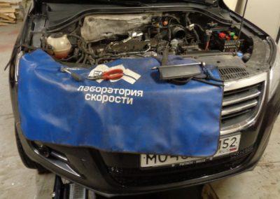 VW Tiguan 2.0TDI Удаление сажевого фильтра и EGR.