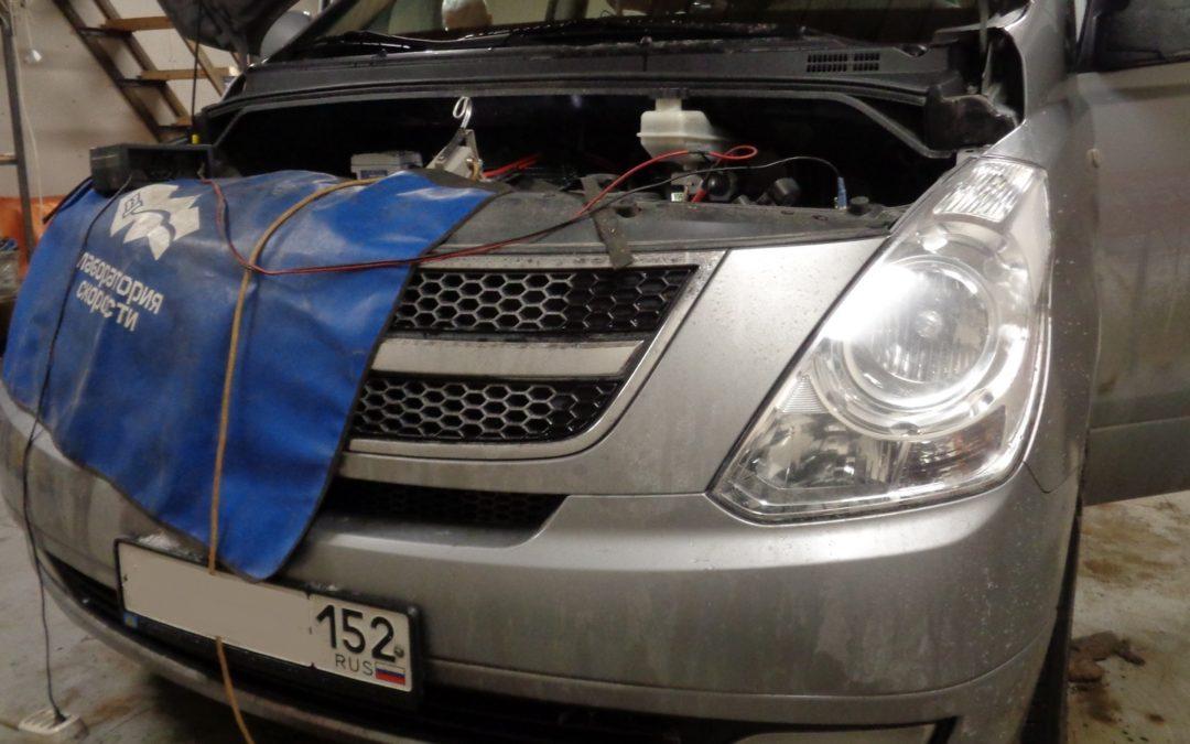Hyundai Starex отключение EGR