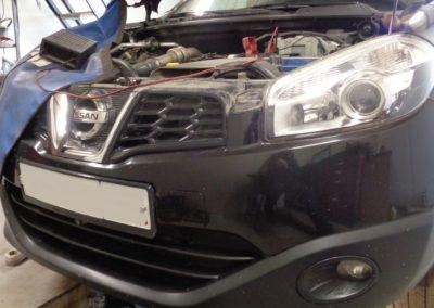 Nissan Qashqai 1.5DCI удаление сажевого фильтра