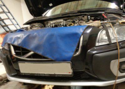Volvo XC70 удаление сажевого фильтра и ЕГР