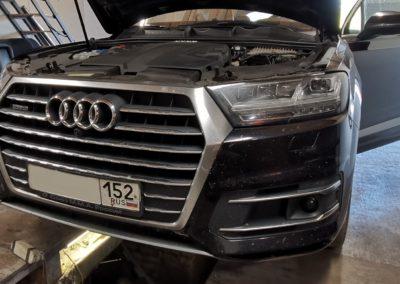 Audi Q7 4M 3TDI Чип тюнинг и отключение экологии
